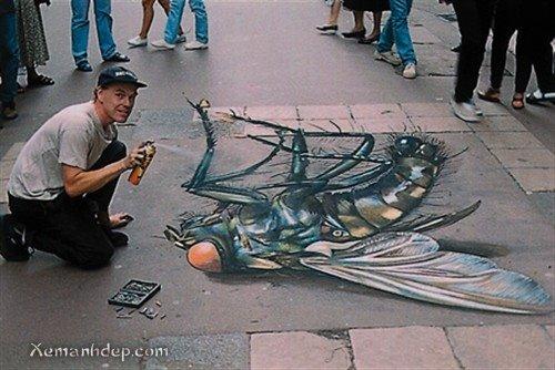Lukisan 3D