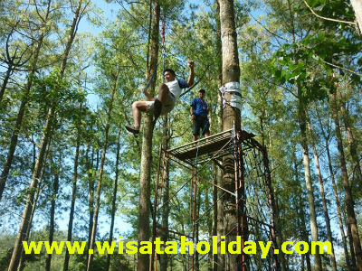 perkemahan outbound coban rondo batu