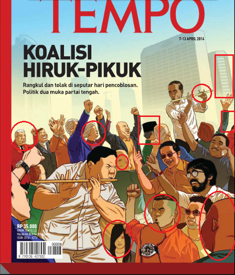 Misteri Cover Tempo 7 April 2014 (Pilpres)