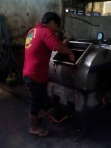 proses pembuatan keripik buah